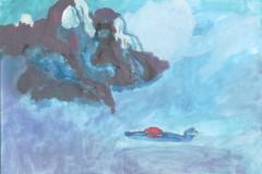 """Петков Александр 11 лет """"Гора и самолет"""" (г. Москва) - Еврейский музей и центр толерантности"""
