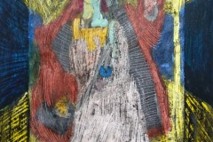 "Галкин Константин 14 лет ""Кондукторша. Вид дальше"" (г. Санкт-Петербург) - ГМИИ им. А.С. Пушкина"