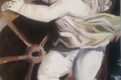 """Лосева Ярослава, 13 лет, """"Купидон с колесом фортуны"""" (Московская обл., г. Электросталь)"""